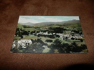 Early Lake District postcard - Ambleside from Loughrigg -  Cumbria