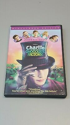 Charlie and the Chocolate Factory (DVD, 2005, Widescreen), Johnny Depp