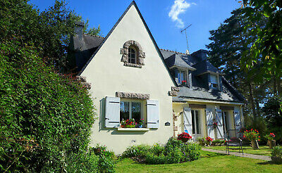 Classic French Home, Detached, Non-overlooked, Move-In Ready, Brittany,France
