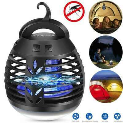 Camping Tent Outdoor Insect Bug Flying Killer Light Mosquito Zapper LED Lamp UK