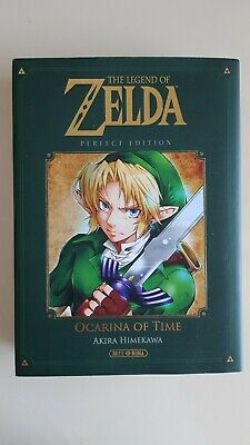 The Legend of Zelda Ocarina of Time - Perfect Edition - Livre Comme neuf