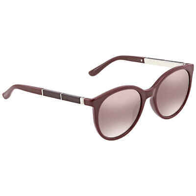 78b9cedef03 Jimmy Choo Erie Brown Mirror Gradient Cat Eye Ladies Sunglasses ERIE S 54NQ  54