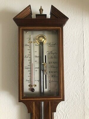 Russell Scientific Instruments Barometer 604 Pediment