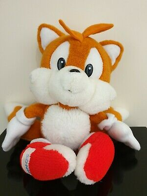 Vintage Sonic The Hedgehog Tails The Fox Plush Soft Toy 14 ins