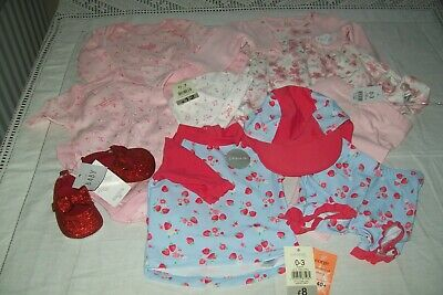 Baby girls clothes from George size 0-3m nwt - combined postage available