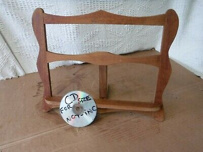 Vintage  Wooden  Table Top Book  Rest.  Folding.   Free  Delivery.