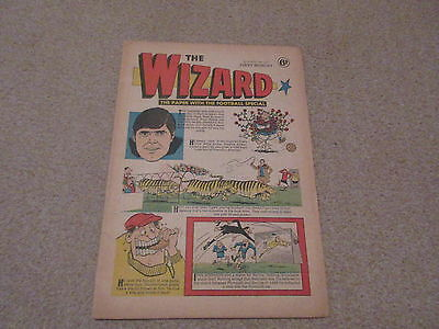 THE WIZARD COMIC, No 10- April 18th 1970- Ron Yeats edition-good condition