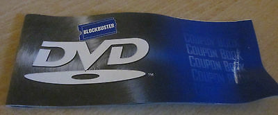 Collectible Blockbuster DVD Coupon Book (expired 2000)