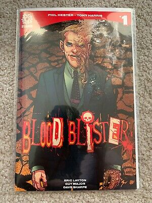 BLOOD BLISTER 1 January 2017  NM -AFTERSHOCK COMICS TONY HARRIS COVER!