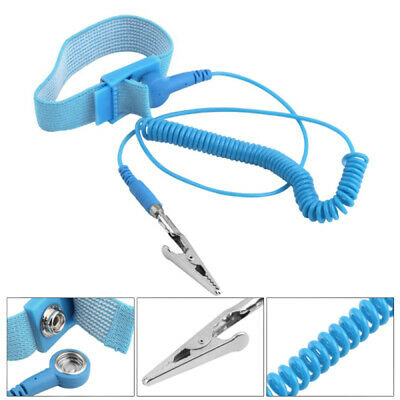 Tool Sets Nice Jakemy Adjustable Anti-static Wrist Strap Bracelet Esd Discharge Cable Reusable Wrist Band With Grounding Wire Last Style