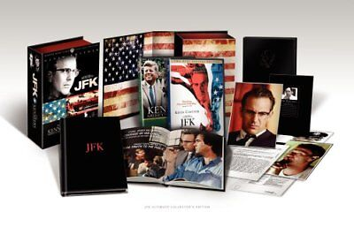 JFK The Kennedys Ultimate Collector's Edition Director's Cut 3-Disc DVD Box Set