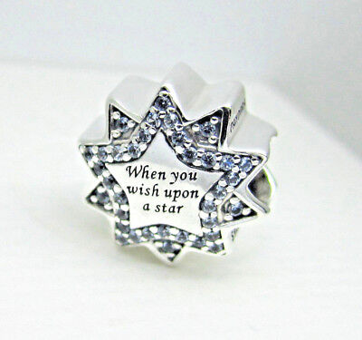 Authentic Pandora #797490NBL When You Wish Upon A Star Disney Bead