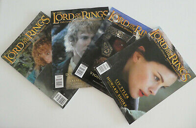 The Lord of The Rings Fan Club Official Movie Magazines 2002-2003