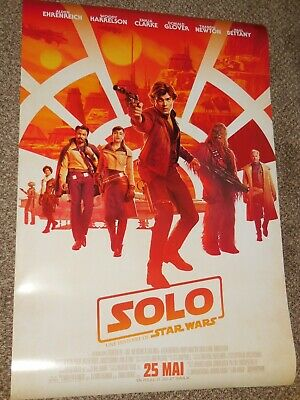 "Solo a Star Wars Story ""FRENCH VER C"" 27x40 Original D/S Movie Poster"