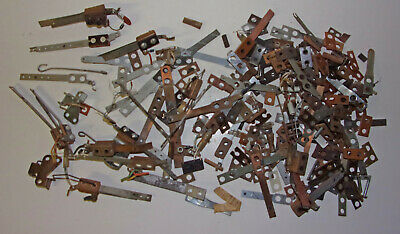 Assorted EM & SS Pinball Machine LEAF SWITCH PARTS (Mixed Parts Lot # 3)