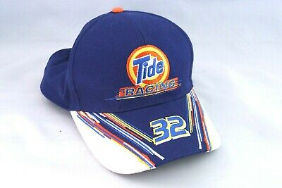 Vintage Tide Racing #32 Snapback Baseball Hat Cap Ricky Craven Nascar Stock Car