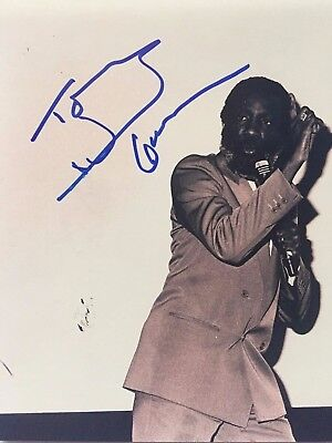DICK GREGORY Signed Autographed 8x10  PHOTO COA Civil Rights Activist COMEDIAN B