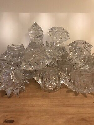 Mid Century Glass Ceiling Light Fittings Retro Vintage 60's