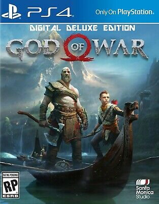 God of War Deluxe Edition Ps4 Oferta!!