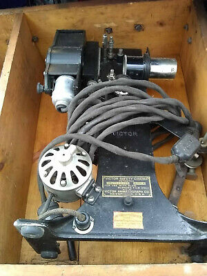 Antique Victor Safety Cinema 28 mm Projector 1917