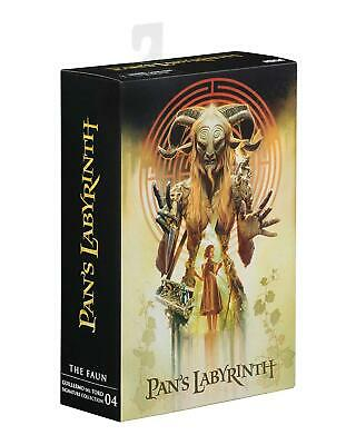 """Guillermo Del Toro Signature Collection Pan's Labyrinth Faun 7"""" Action Figure"""