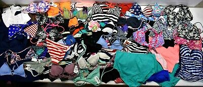 8279e6fe23534 Wholesale Bulk Lot 75 Pieces Summer Swimsuit Swimwear Tops + Bottoms Mixed  Lot