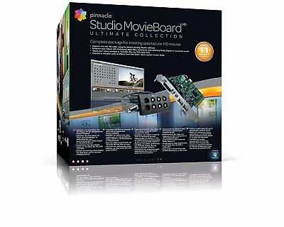 Capturadora Editora Pinnacle Movie Board Ultimate Collection 14 Pci