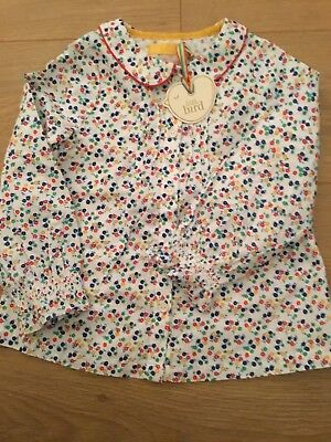Little Bird By Jools Oliver Girls Floral Top / Blouse Age 2-3 Years 🌈