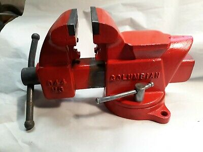 Vintage Columbian Model 503 1 2 Bench Vise 3 1 2 Quot Jaws