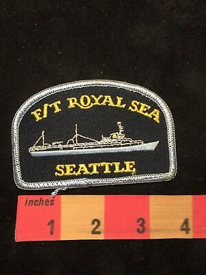 Washington Ship Patch F/T ROYAL SEA Seattle 88XD