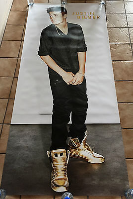 Justin Bieber Girlfriend Promo Poster 1.8M! Extremely Rare Huge Unused Purpose