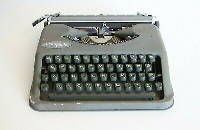 Hermes Baby Typewriter - Compact - Made in Switzerland - Excellent Condition