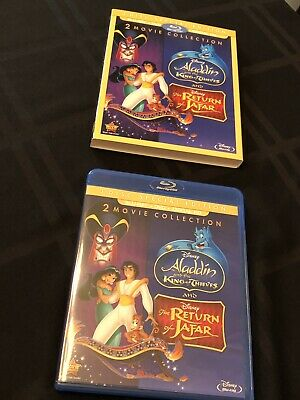 Aladdin and the King of Thieves/The Return of Jafar Blu-ray + DVD No Digital DMC