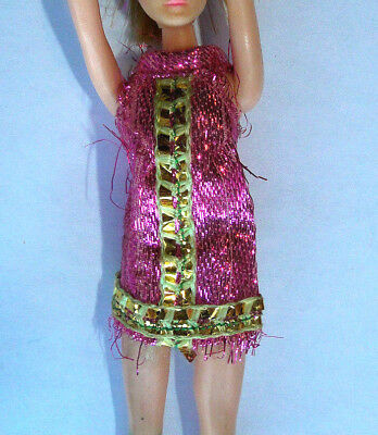 Dawn Doll Majorette Dress Only in Pink /& Gold