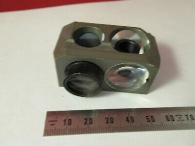 Olympus Japan Assembly Prism Beam Splitter Microscope Part As Pictured &8-B-13