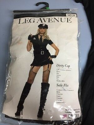 Leg Avenue Police Officer Dirty Cop Plus Size Adult Womens Costume 83344