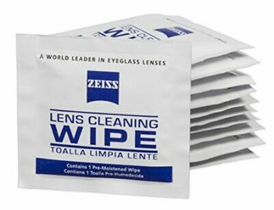 Zeiss Pre-Moistened Lens Cleaning Wipes, 6 x 5-Inches 100 count