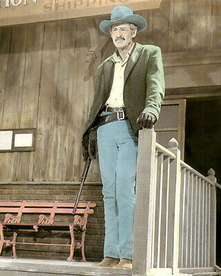 """Robert Ryan The Wild Bunch 1969 Hollywood Actor 8X10"""" Hand Color Tinted Photo"""