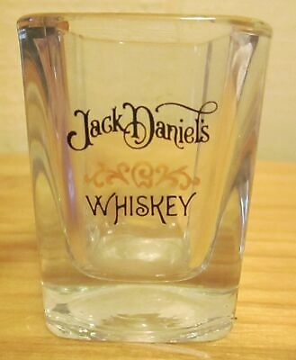 Pre-Owned Jack Daniels Whiskey Square Double Shot Glass