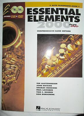 Essential Elements for Band Book 1 Eb Alto Saxophone 1999 Paperback