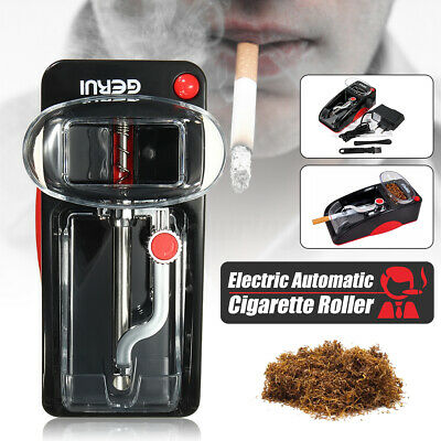 Electric Automatic Cigarette Maker Machine Injector Rolling Roller Red Black ❤