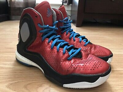 8d5e9ca65cb Adidas D Rose 5 Boost Men s Shoes Size 7 Red Basketball EU 40 Athletic  C75943