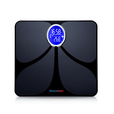 Electronic LCD Digital Body Fat Scale 180kg 8 Parameters Weighing Scale Gym AU