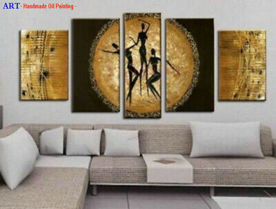 Large Modern Contemporary Abstract Oil Painting on Canvas Wall Art Framed aps162