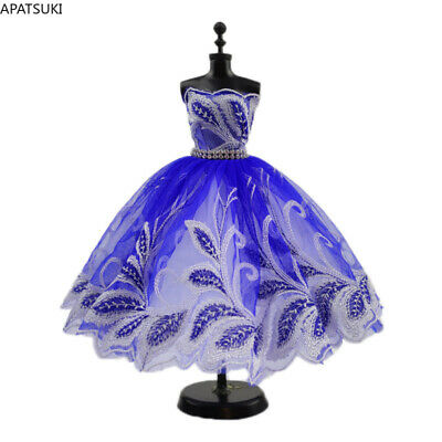 """High Fashion Wedding Dress for 11.5"""" Doll Clothes Evening Dresses Gown Outfits"""