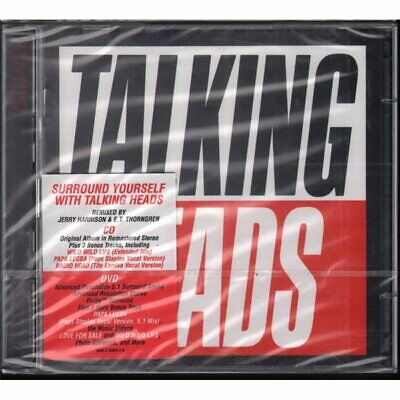 Talking Heads CD DVD True Stories/Emi 0946 3 48666 2 0 Remastered Sealed