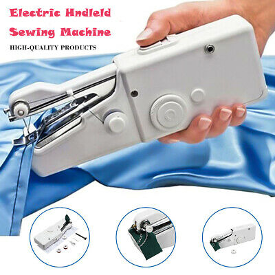 Handheld Sewing Machine Singer Portable Stitch Sew Quick Handy Cordless Repairs*