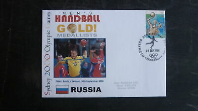 Russia Sydney 2000 Olympic Mens Handball Team Gold Medal Win Cover