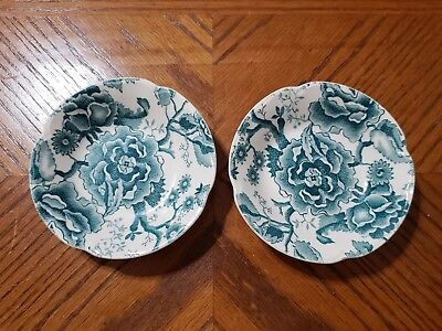 Vintage Johnson Brothers ENGLISH CHIPPENDALE Green Berry Fruit Bowls England