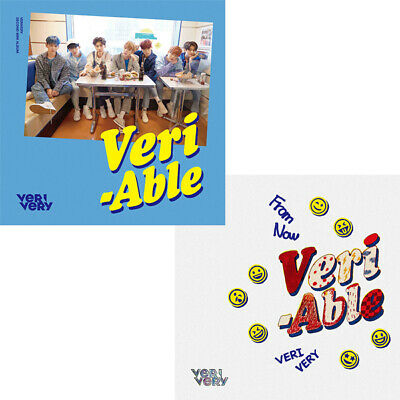 VERIVERY [VERI-ABLE] 2nd Mini Album CD+POSTER+P.Book+Post Card+Card K-POP SEALED